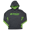 CamoHex Colorblock Hoodie - Smoke Grey | Lime