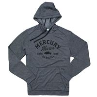 Established Triblend Hoodie - Dark Grey