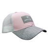 Ladies Horizon Cap - Pink / Grey / White