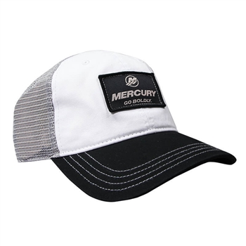 Fosston Cap - White / Black / Grey