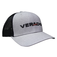 Verado Cap - Heather Grey / Black