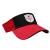 Shield Visor - Red | Black