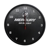 Go Boldly Wall Clock - Black