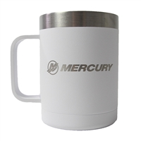 Mercury Basecamp 15oz Insulated Mug - White