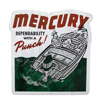 Dependability 18 x 18 Tin Wall Sign