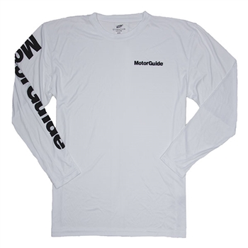 MotorGuide L/S Cooling Tee - White