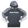 MotorGuide Camo Colorblock Hoodie - Dark Smoke Grey