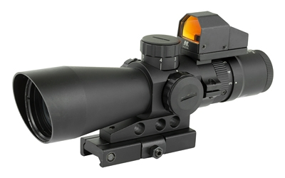 NCSTAR, 3-9X42 Scope with Micro Dot,