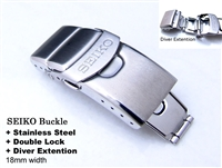 18mm SEIKO CLASP for bracelets