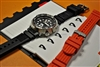 Seiko 22mm M22 waffle strap repro wjean28 William Jean strapboutique