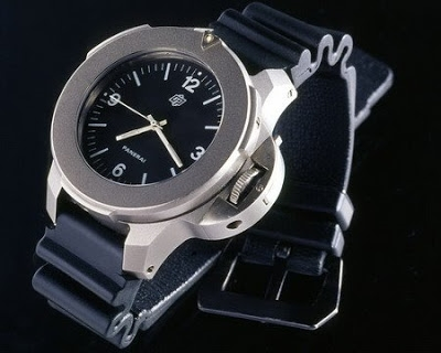 24mm Panerai 'prototype' rubber strap
