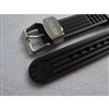 "20mm JDM SEIKO Marinemaster RUBBER waffle DIVE STRAP ""Metal holder""/ R02X011J0"