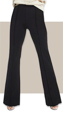 High-Rise Stretch Ponte Flare Pant