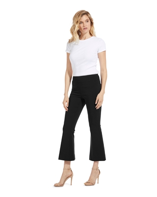 Techno Stretch Cropped Flare Pant