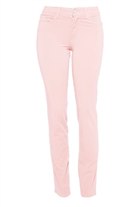 Cotton Twill Stretch Slim-Fit Jeans | Blush