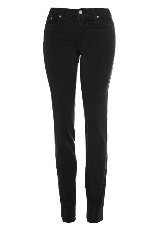Fabrizio Gianni Lightweight Cotton Twill Stretch Straight Leg Size 12 Black Jean