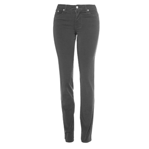 Cotton Twill Stretch Slim-Fit Jeans | Battleship