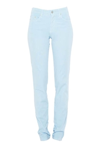 Cotton Twill Stretch Slim-Fit Jeans | Celest