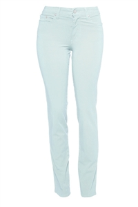 Cotton Twill Stretch Slim-Fit Jeans | Glacier
