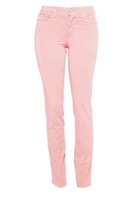 Cotton Twill Stretch Slim-Fit Jeans | Pink Sands