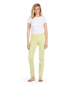 Cotton Twill Stretch Slim-Fit Jeans | Summer Pear
