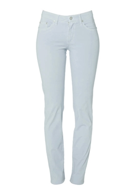 Cotton Twill Stretch Slim-Fit Jeans | Zenith