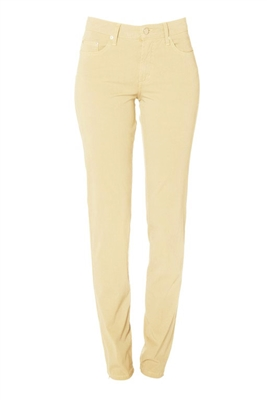Cotton Twill Stretch Slim-Fit Jeans | Almond
