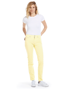 Cotton Twill Stretch Slim-Fit Jeans | Citrine