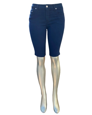 Stretch Denim Capri Jeans