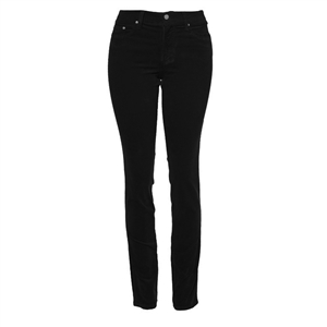 Slim-Fit Stretch Corduroy | Black
