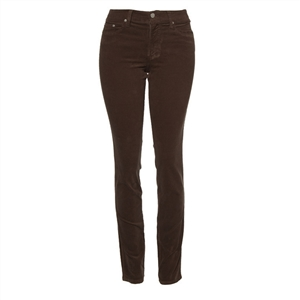 Slim-Fit Stretch Corduroy | Chocolate