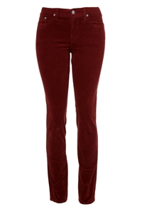 Slim-Fit Stretch Corduroy | Passion Red