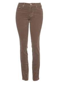 Slim-Fit Stretch Corduroy | Shiitake