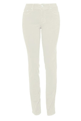 Slim-Fit Stretch Corduroy | Alabaster