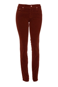 Slim-Fit Stretch Corduroy | Fire-Brick
