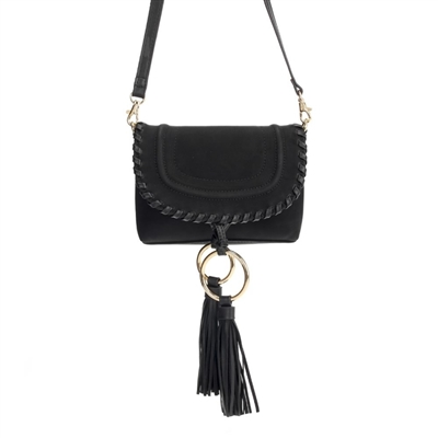 Mini Crossbody w/ Tassel