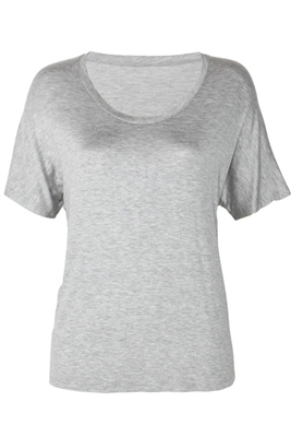 The Riley Relaxed Tee | Heather Gray