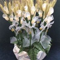 First Holy Communion Favor with Callas and Wheat