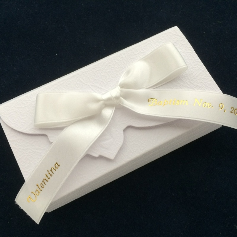 Italian Envelope Box Favor With Jordan Almonds