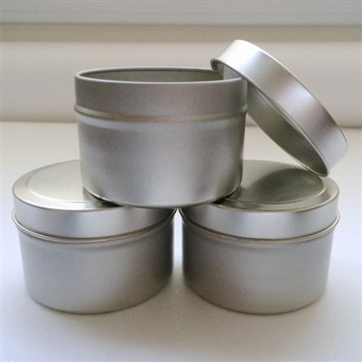 Four Ounce Seamless Favor Tins