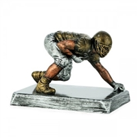 Premium Lineman Trophy<BR> 4.25 x 5 Inches<BR>8 x 10.75 Inches