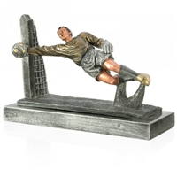 Premium<BR> Soccer Goalie Trophy<BR> 8.5 x 12 Inches
