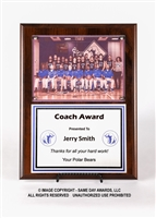 Team Picture Plaque