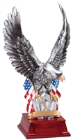 Silver<BR> Eagle Trophy<BR> 11 Inches