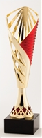 Red and Gold<BR> Trophy Cup<BR> 12.25 and 13.25 Inches