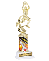 Female Basketball Theme Trophy<BR> 10 Inches