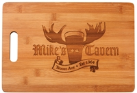 "Large Bamboo Cutting Board<BR>13.75"" x 9.75"""
