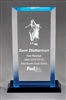 Impress Billboard<BR> Blue Acrylic Trophy<BR> 4 to 7.5 Inches
