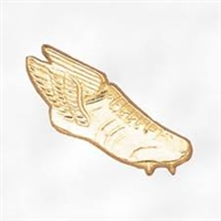 Chenille Pin<BR> Winged Foot
