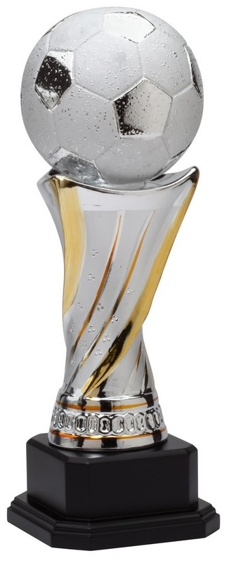 Premium Ceramic<BR> Soccer Trophy<BR> 11.25 to 20 Inches